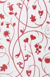 Papier peint Antiope rouge