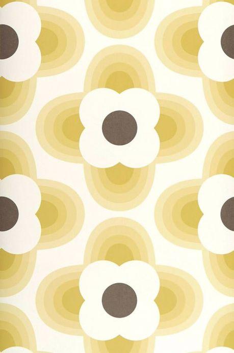 Design Wallpaper Wallpaper Selene green beige Roll Width