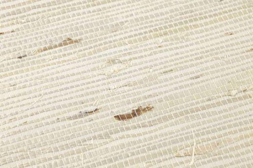 Tapete Grasscloth 02 Hellelfenbein Detailansicht