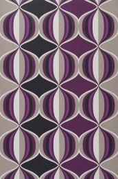 Wallpaper Delos violet