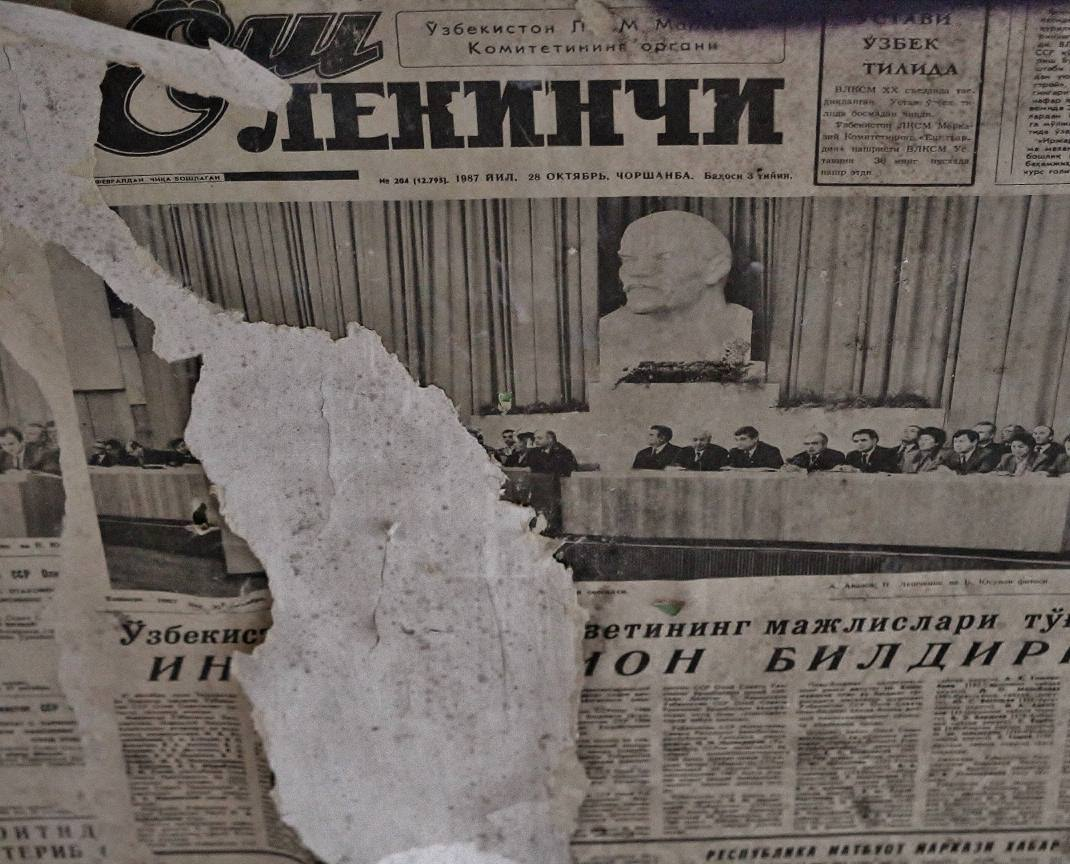 Zeitung-als-Makulaturtapete