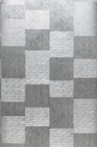 Wallpaper Spirit Shiny Squares Silver