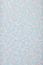 Wallpaper Felicia Matt Florets Light blue Pale light brown Heather violet Grey blue lustre White