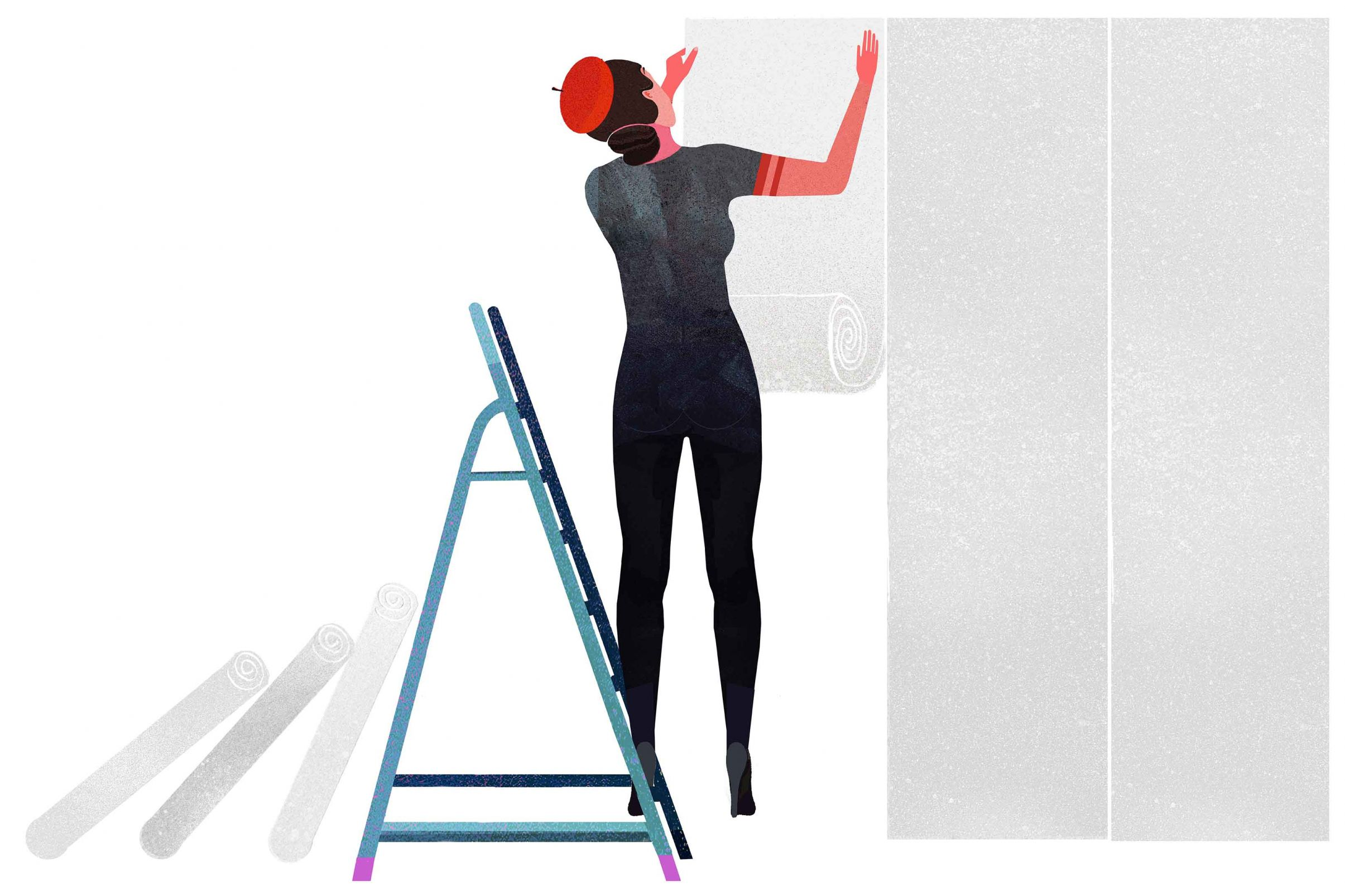 How-to-prepare-the-wallpapering-surface-How-to-apply-Lining-Paper
