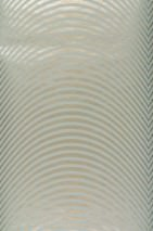 Papier peint Kosimo Motif mat Surface chatoyante Courbes Doré Gris bleu clair