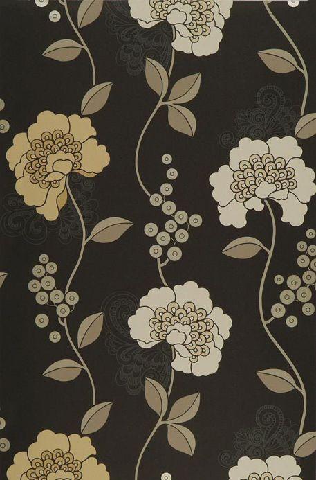 Archiv Papier peint Mimir brun noir Largeur de lé