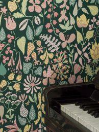 Papier peint Eurynome rosé