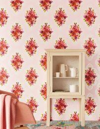 Wallpaper Malona pale pink