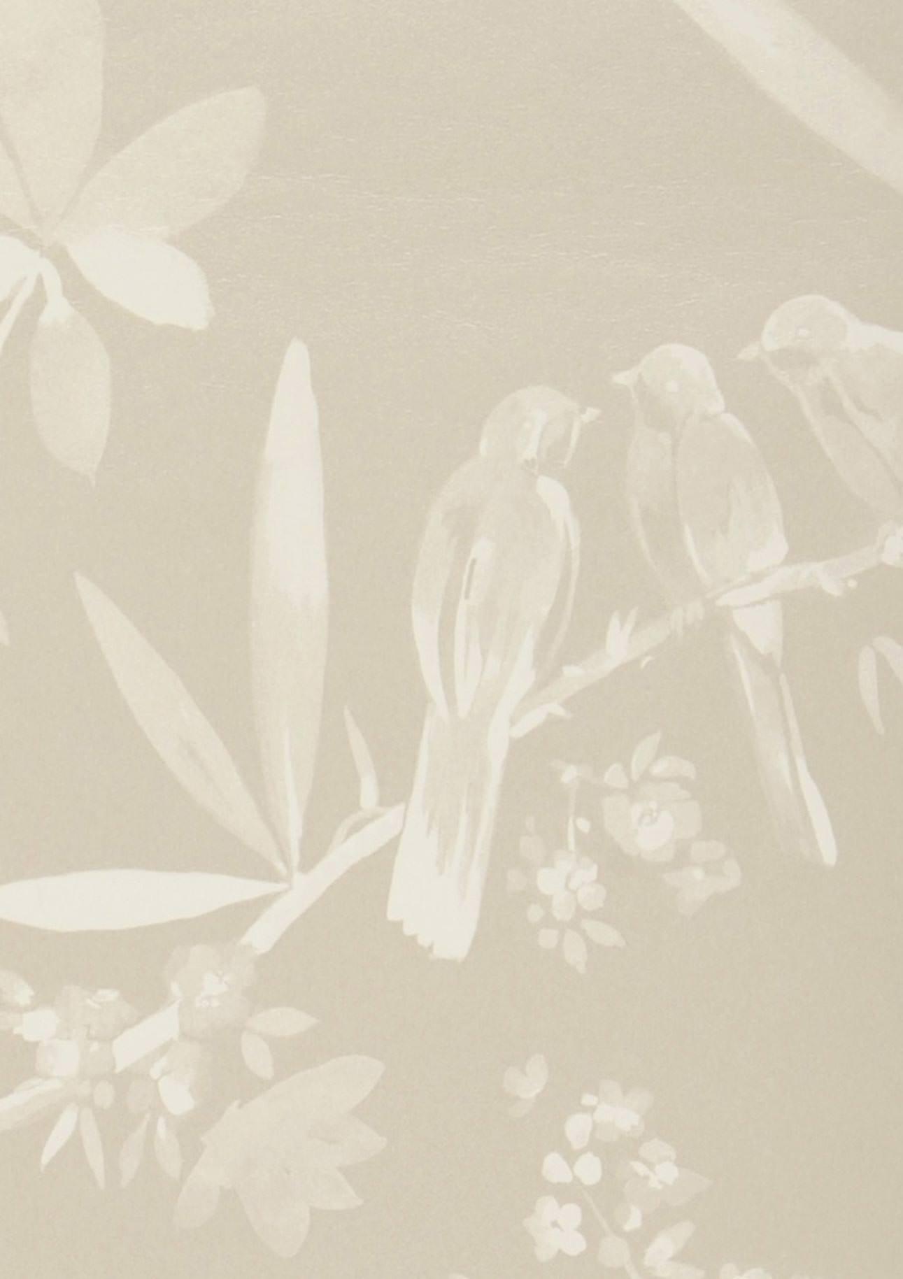 Carta da parati nekami beige grigiastro chiaro beige for Carta da parati beige