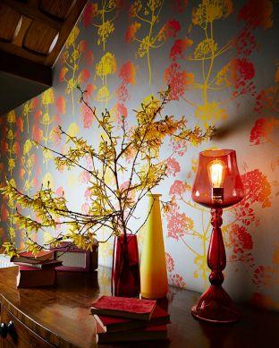 Wallpaper Emorie yellow Room View