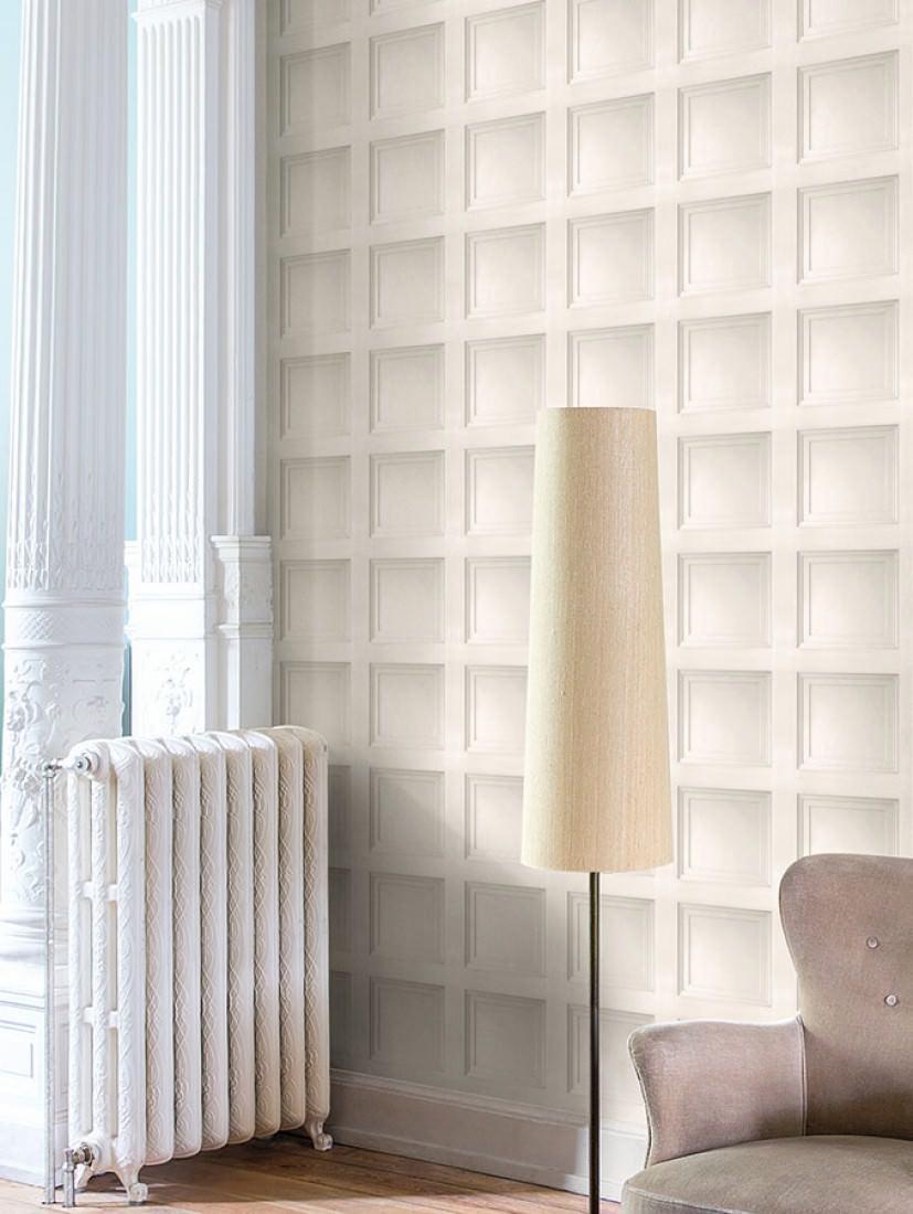 papier peint avilio gris p le blanc gris papier peint. Black Bedroom Furniture Sets. Home Design Ideas