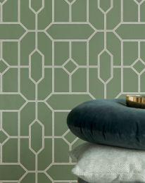 Wallpaper Worana mint green