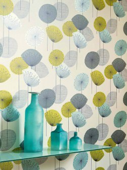 Papier peint moderne et nouvelles tendances dans notre - Produit pour decoller papier peint ...