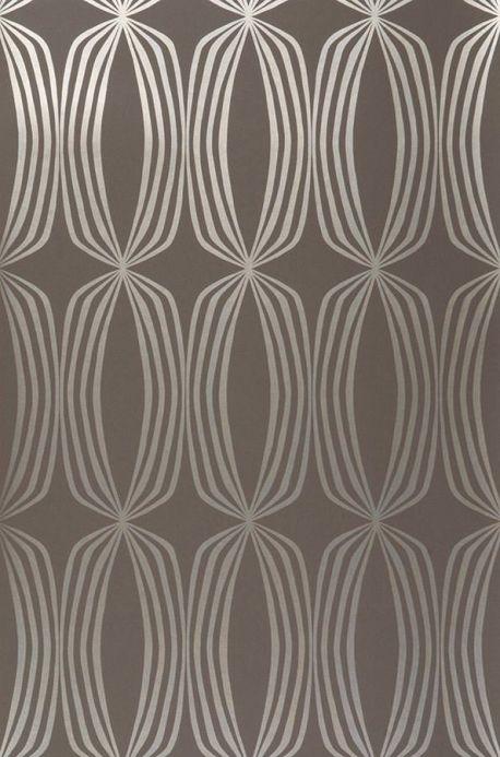 Archiv Papier peint Levana gris brun Largeur de lé