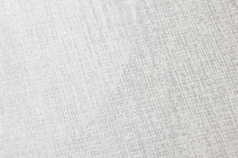 Papel pintado sabulana marfil claro plata blanco - Papeles pintados de los 70 ...