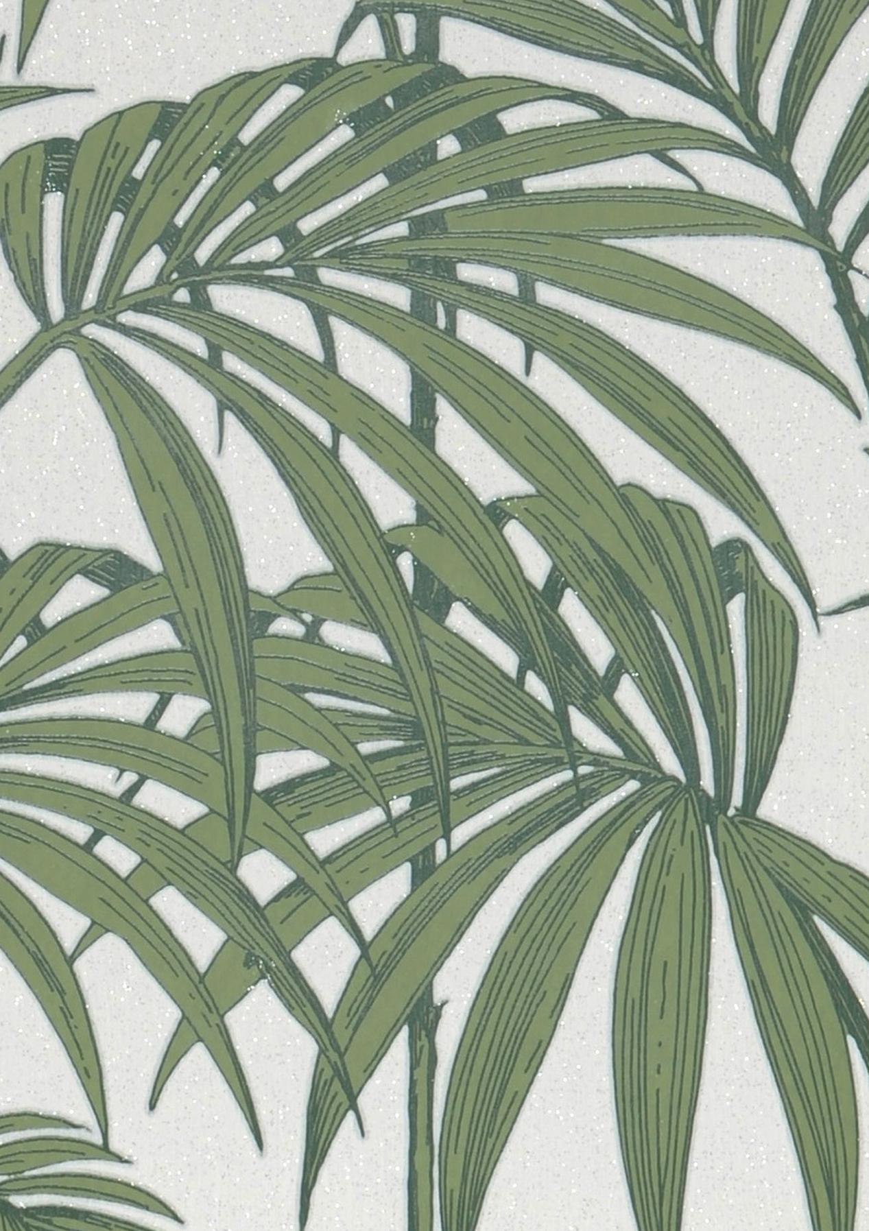 tapete tatanu weiss glitzer dunkelgr n pastellgr n. Black Bedroom Furniture Sets. Home Design Ideas