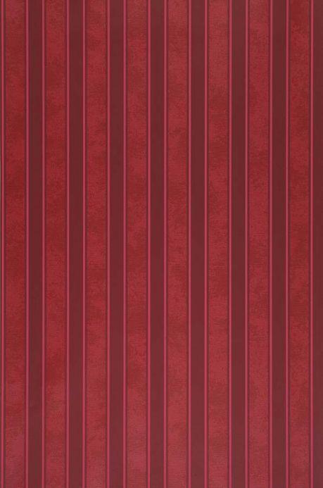 Carta da parati damascata Carta da parati Nebula rosso rubino Larghezza rotolo