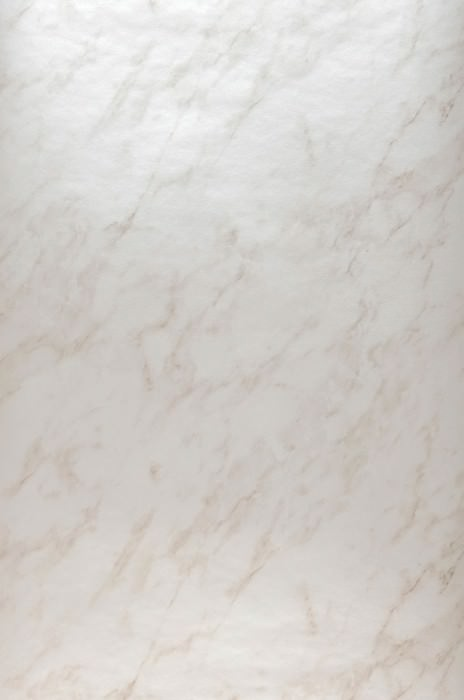 Carta da parati Marble Illusion Brillante Simil marmo Marrone pallido Bianco crema