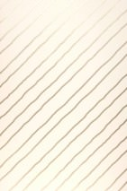 Wallpaper Diagonal Hand printed look Shimmering pattern Matt base surface Stripes Cream Pearl beige