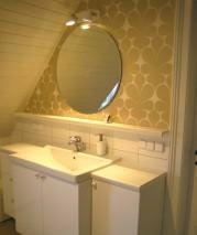 Wallpaper Velusa Shimmering pattern Matt base surface Modern damask Cream Light ivory