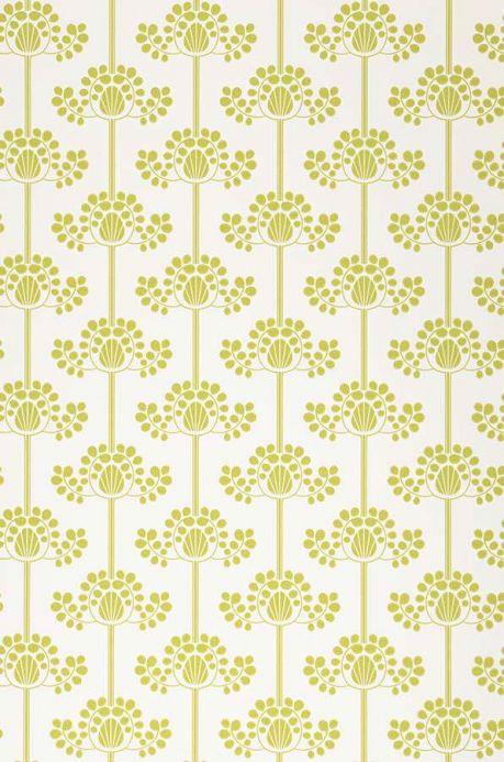 Archiv Papel pintado Valerie verde amarillento Ancho rollo