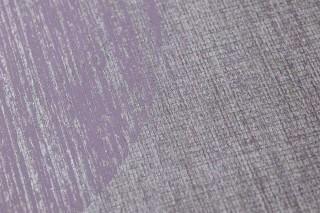 Wallpaper Sabulana Shimmering Circles Pastel violet Silver Pale violet