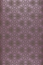 Wallpaper Imalas Shimmering pattern Matt base surface Circles Modern elements Grey brown Red violet
