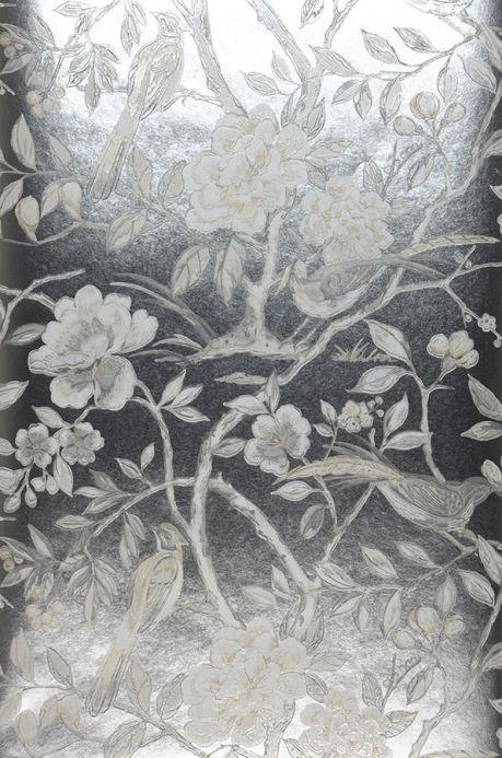 Archiv Wallpaper Fatima silver Roll Width