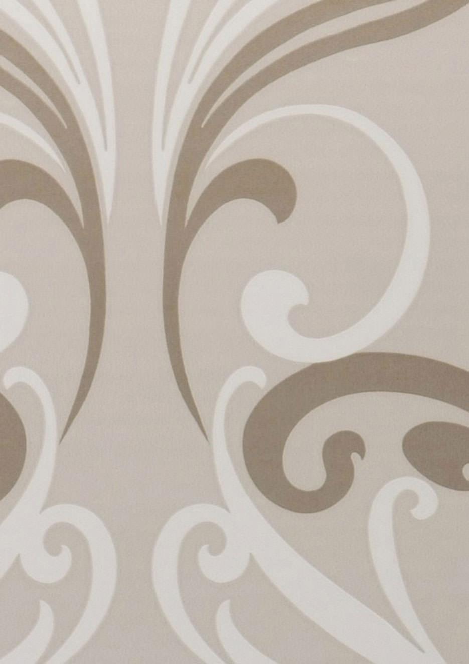 tapete jupiter hellelfenbein perlglanz cremeweiss gold tapeten der 70er. Black Bedroom Furniture Sets. Home Design Ideas