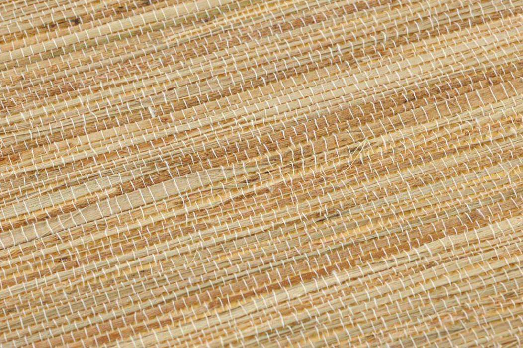 Wallpaper Grasscloth 08 Matt Solid colour Pale brown Sand