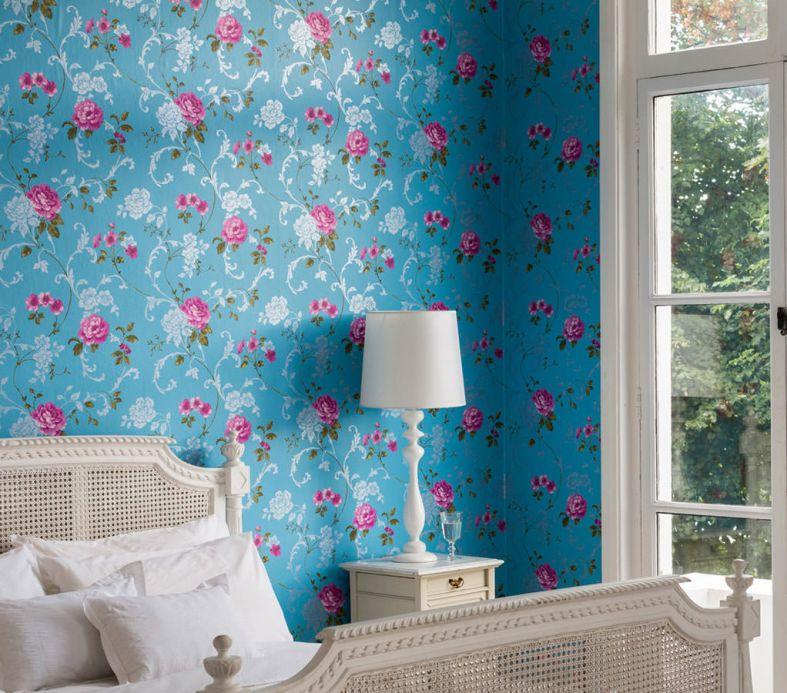 Archiv Papel pintado Vesta magenta Ver habitación