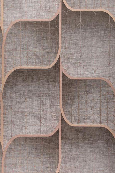 Archiv Papel de parede Hunapu marrom acinzentado claro Largura do rolo