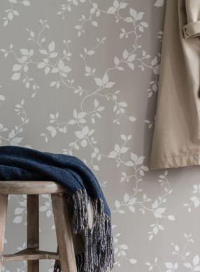 Wallpaper Hikabe light grey Room View