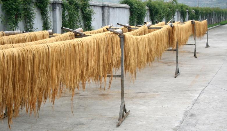 Grasfaser-Tapeten-Trocknen