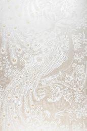 Papel pintado Izanuela blanco crema