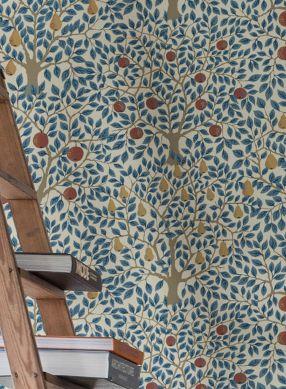 Papel de parede Berita azul celeste Ver quarto