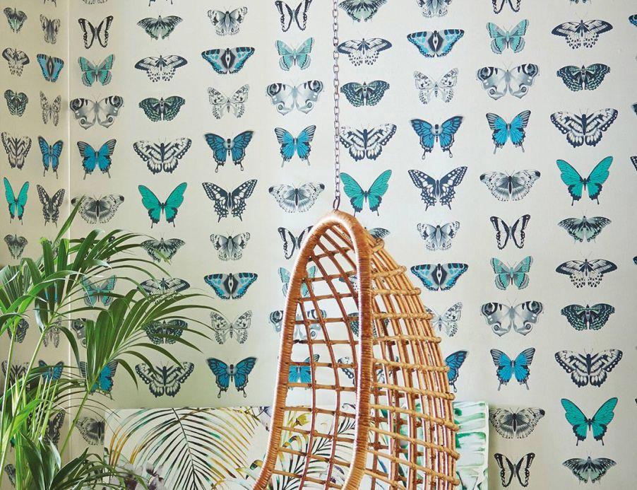 Archiv Papier peint Escal bleu d'eau Vue pièce