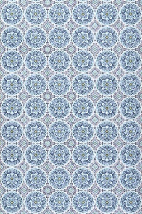 Archiv Papel pintado Finola azul claro Ancho rollo