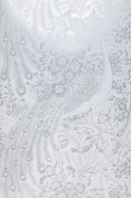 Metallic Wallpaper Wallpaper Izanuela white Roll Width