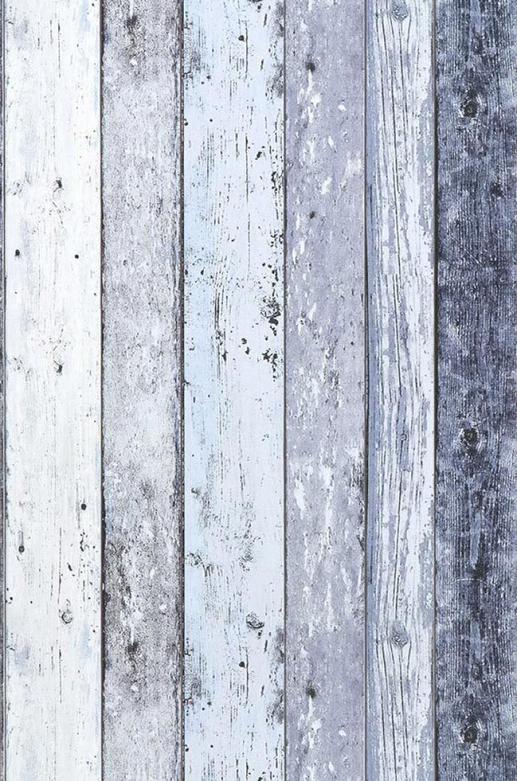 papier peint old planks bleu p le blanc cr me bleu gris. Black Bedroom Furniture Sets. Home Design Ideas