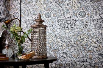 Wallpaper Benedetta grey