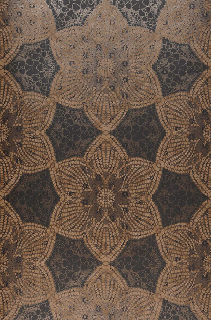 papier peint marrakesh brun noir brun p le beige gris. Black Bedroom Furniture Sets. Home Design Ideas