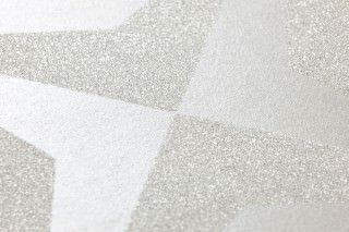 Wallpaper Cerberus Shimmering Graphic elements Cream Cream white glitter