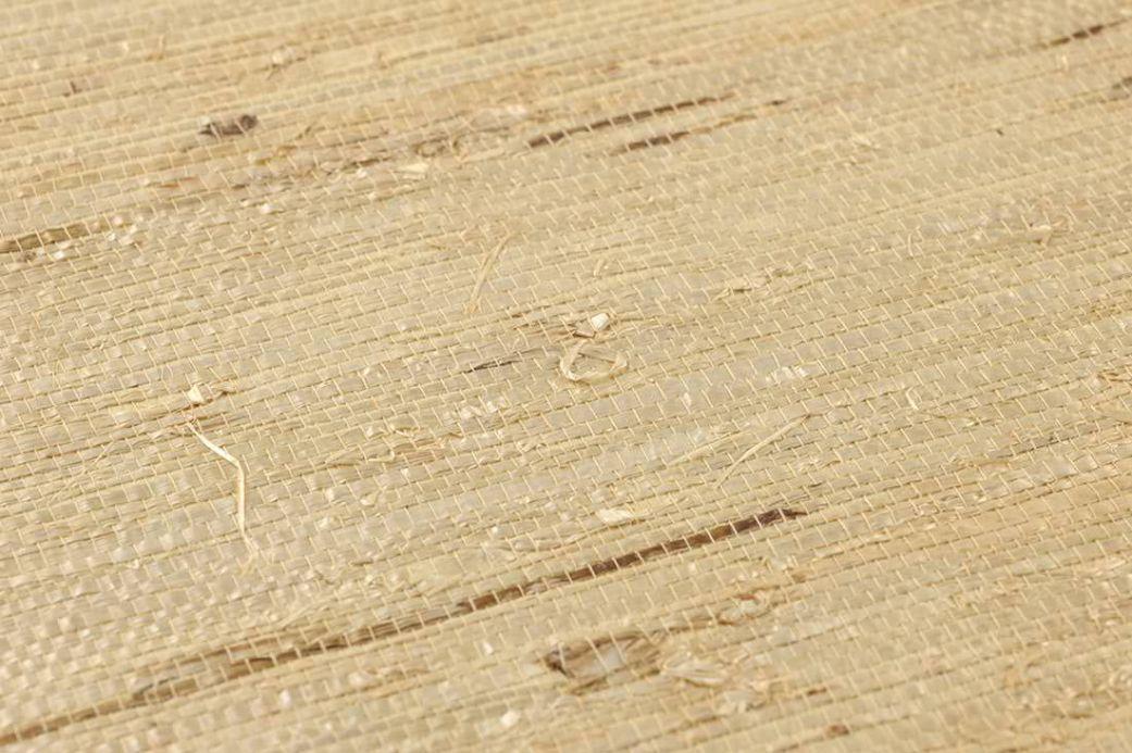Archiv Carta da parati Grasscloth 05 sabbia Visuale dettaglio