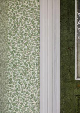 Papel pintado Malva verde pálido Raumansicht