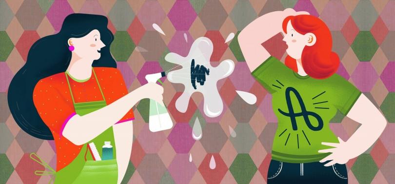 Cómo sellar el papel pintado para que repela la suciedad y sea lavable