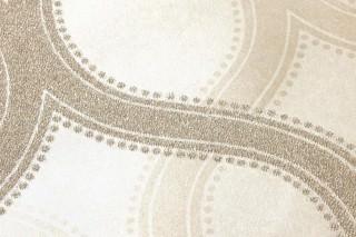 Wallpaper Alfadur Shiny pattern Shimmering base surface Modern damask White gold Gold lustre
