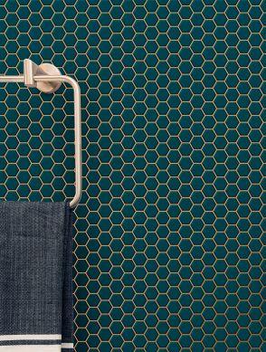Wallpaper Bogo water blue Raumansicht