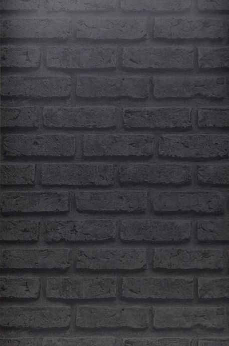 Stone Wallpaper Wallpaper City Brick dark grey Roll Width