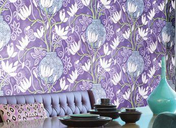 Papel pintado Habita lila